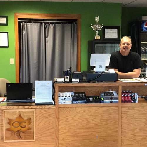 Pro Shop at Oskaloosa Public Golf