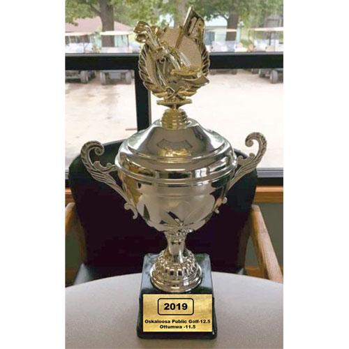 2019 golf trophy